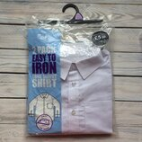 Рубашка школьная 12-13 лет F&F Easy to iron