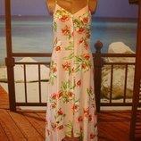 Платье сарафан макси, асимметричный из вискозы р.8-10 Atmosphere