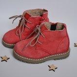 Классные замшевые ботинки next
