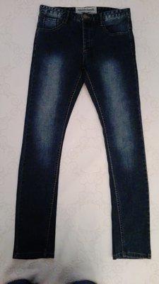 Мужские джинсы, зауженые, р. 32, обычный - М.