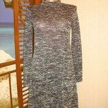 Платье меланжевое р.8-10 Gina Tricot