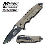 Складной нож от компании Master Cutlery Mtech USA. Модель MX-A809TN. Оригинал.