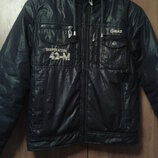 Демисезонная курточка на мальчика 10-12 лет, размер 38-40