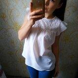 Красивенная блузка гипюр