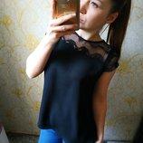 Шикарная блузка от Зара гипюр