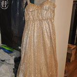 Нарядное открытое платье- сарафан