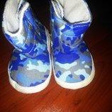 Камуфляжные пинетки-ботиночки стелька 10. 5-11 см