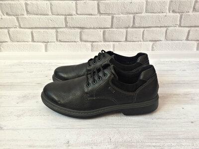 Новые кожаные полуботинки Gallus Германия 44 размера