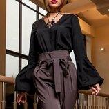 Стильная нарядная блуза