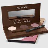 Палетка теней для век Farmasi Pallet Eyeshadow 6г