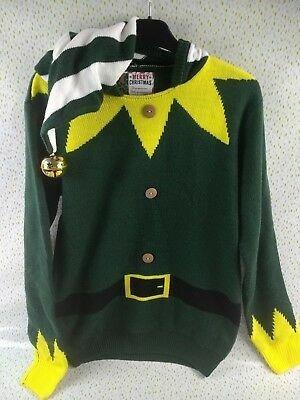 Эльф свитер с капюшоном джемпер рождество 44