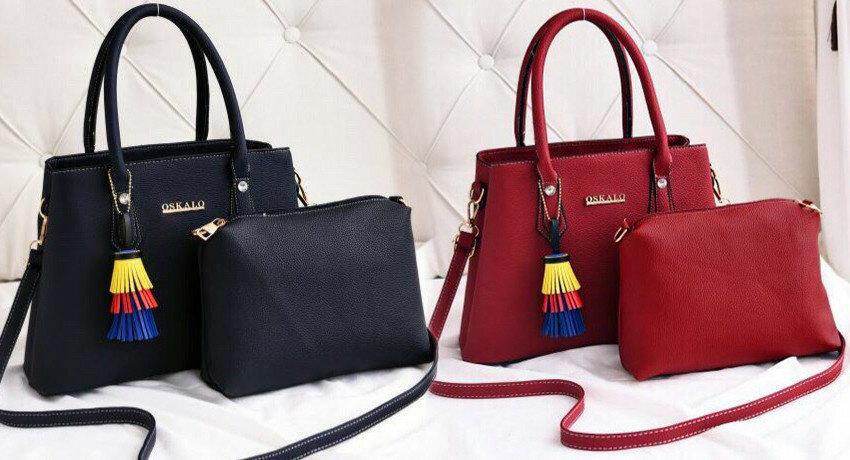 3657983b489a Женская стильная Сумка 2 в 1 2414 в расцветках: 520 грн - молодежные сумки  в Одессе, объявление №20516204 Клубок (ранее Клумба)