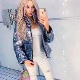 Женская куртка зеркалка, разные цвета