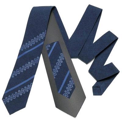 Оригінальна вишита краватка