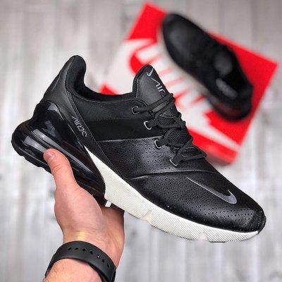 Мужские черные кроссовки nike air max 270 premium