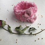 Повязка на голову с цветком яркая нежная нарядная в наличии на праздник лето фотосессия