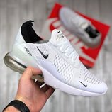 Белые мужские кроссовки nike air max 270