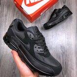 Черные мужские кроссовки nke air max 90