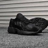 Черные мужские кроссовки adidas yung 1 все размеры в наличии