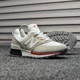 Мужские кроссовки New Balance 574 Sport Gray White все размеры в наличии