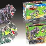 Игрушка Животные 6623 динозавр, свет, звук, ходит, в коробке 29 20 14.5