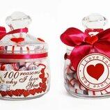 100 Reasons Why I Love you подарок любимому или любимой