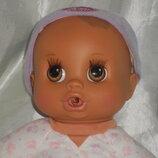 шикарная кукла-пупс Baby Alive Feed 'N Kick 2007 Hasbro Сша оригинал клеймо 31 см