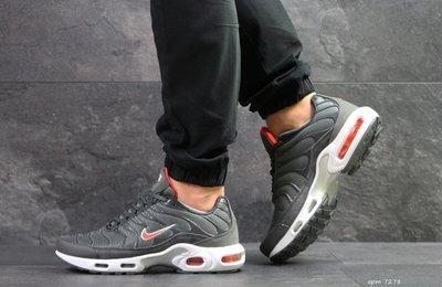 Nike Air Max TN кроссовки мужские демисезонные серые 7278