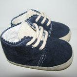 Кросівки ботінки шкіряні Disney Оригінал Німеччина від 0-6 міс.стелька 10,5 см