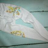 Бомбезные джинсы с вышивкой