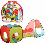 Детская игровая палатка-тоннель M 2958