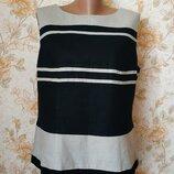 Классная блуза. лен. на бирке- 20 р-р 54