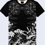 Мужская футболка 3D White wildflowers Большой выбор