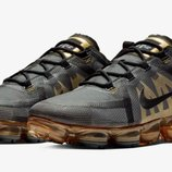 Кроссовки Nike Air VaporMax 2019 Black/Metallic Gold/Black Арт. 3930