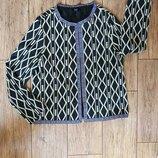 Черно-Белый пиджак жакет накидка. вышивка в этно стиле