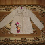 Демисезонна куртка Disney at George на 5-6 років 110-116 см с минни маус