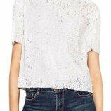 Роскошная футболка в пайетках от Zara