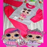 пижама кофта штаны LOL Лол девочке костюм ночной для сна