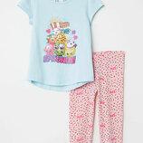 Пижама H&M на 2-4 года