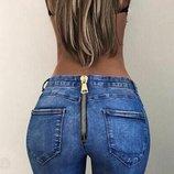 джинсы женские рваные Хит года бойфренды штаны брюки женские лосины джеггинсы с молнией