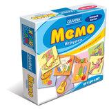 Игра Granna Мемо Игрушки от 2 лет самиздат