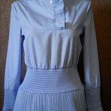 Блузка с плиссировкой размер 6-8 H&M
