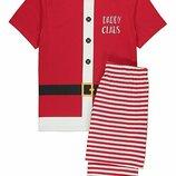 Карнавальный костюм, пижама Санта Клаус Daddy Claus, S