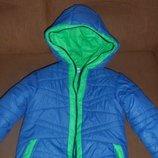 теплая курточка Одягайко р. 110-116