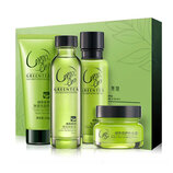 Набор косметики с экстрактом зелёного чая Laikou green tea