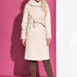 Демисезонное пальто шерсть с капюшоном размеры разные