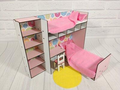 Мебель для кукольного домика. Кукольный домик для лол,барби др.