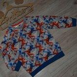 Свитшот кофта мальчику Adidas 3-4г