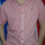 Стильная брендовая нарядная рубашка шведка F&F.л .