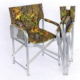 Раскладное кресло Режиссер одна полочка, ножки